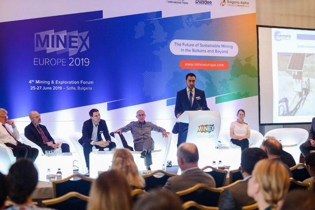 GEOPS Took Active Part at MINEX Forum